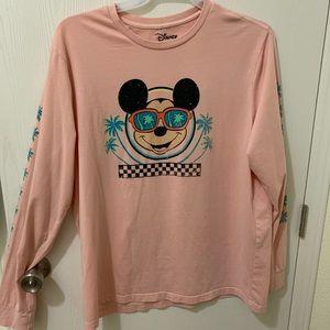 Long sleeve Mickey Mouse unisex XL